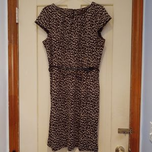 Dana Buchman belted dress